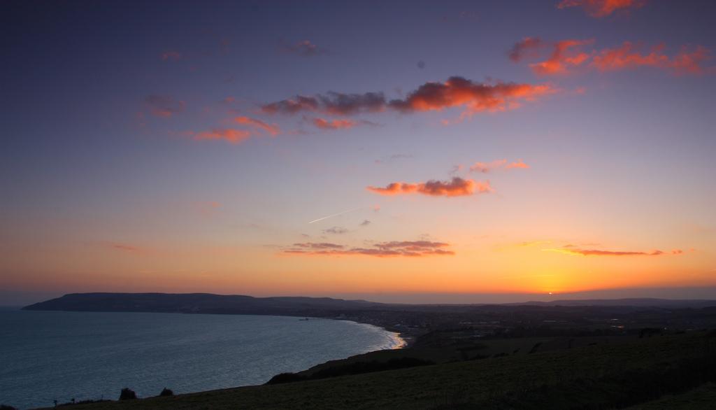 Sunset, Isle of Wight, England