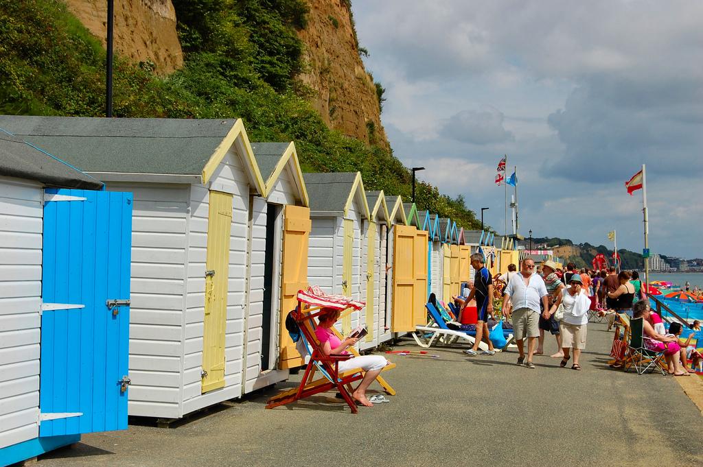 Beach huts, Isle of Wight