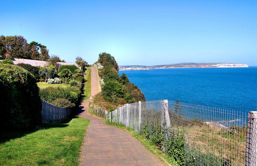 Seaside path, Isle of Wight