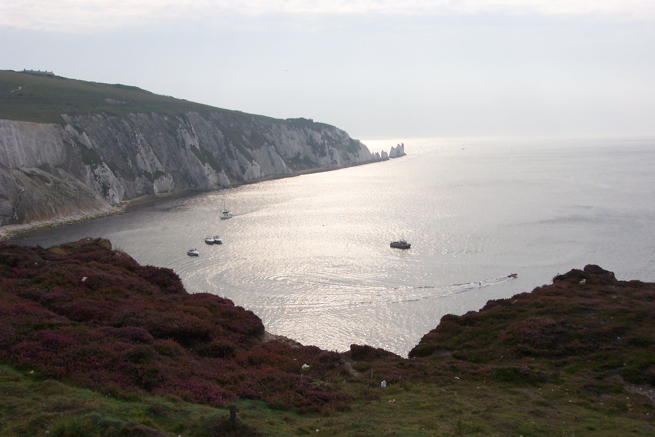 View of The Needles, Isle of Wight
