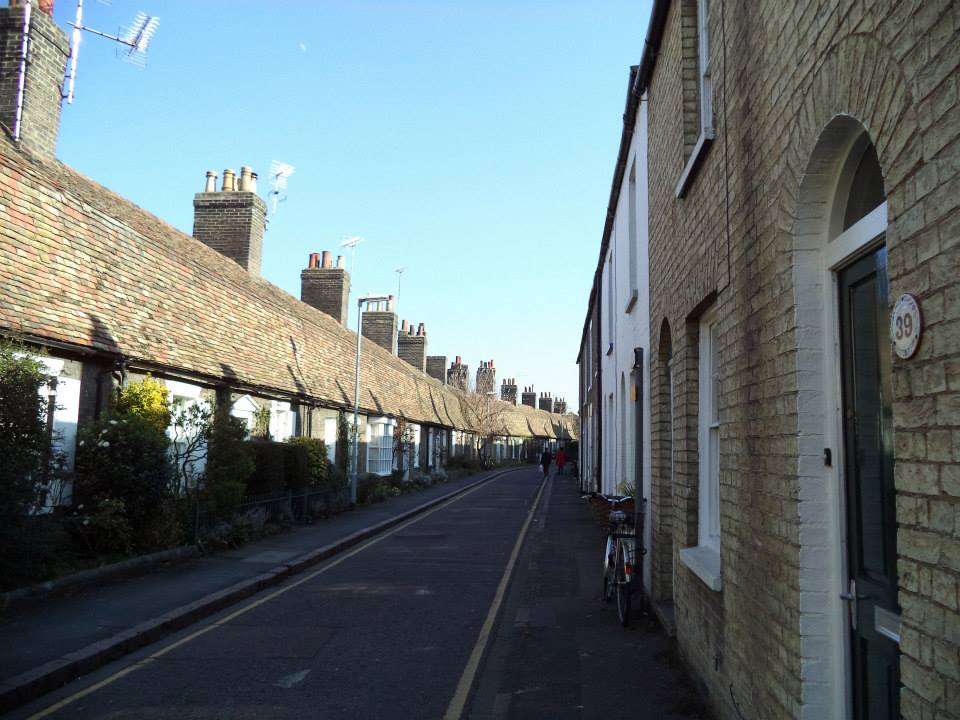 Charming mews in Cambridge