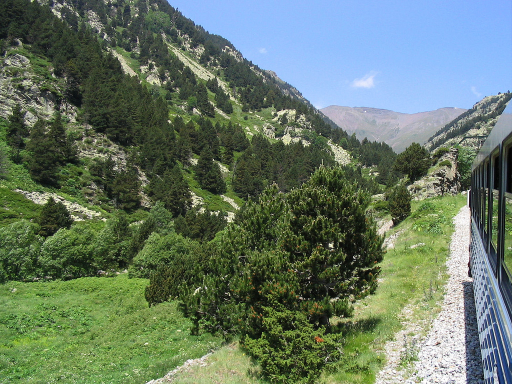 This beauty - Pyrenees - is only a few hours by train from Barcelona!