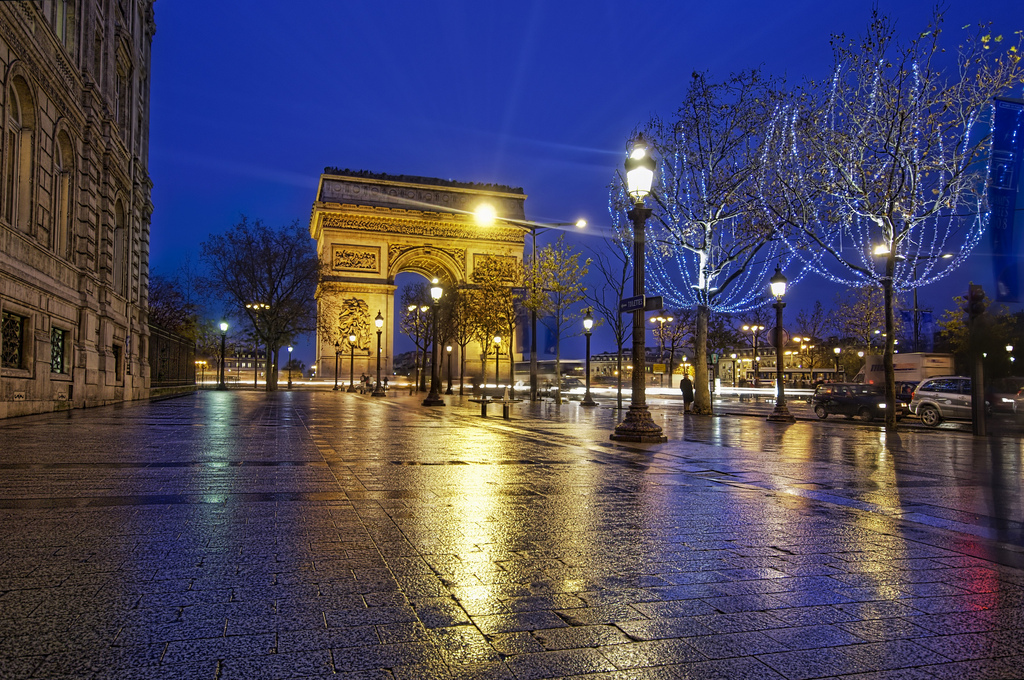 Arc de Triomphe from the Champs Elysses