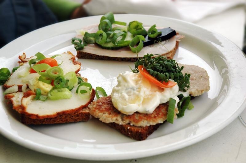 Smorrebrod - Danish sandwich