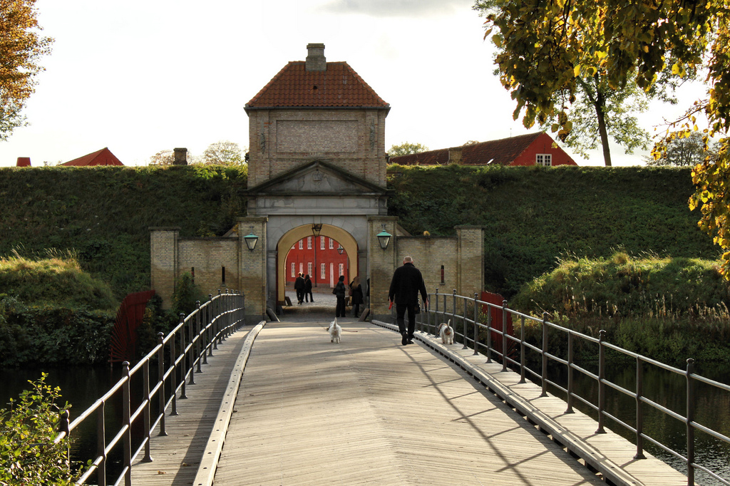 Entrance to the Kastellet, Copenhagen