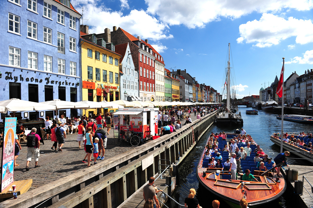 Crowds at Nyhavn, Copenhagen