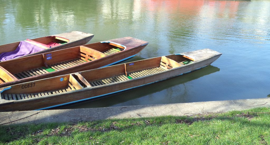 Boats on the river Cam