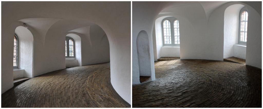 Inside Rundetaarn, Copenhagen