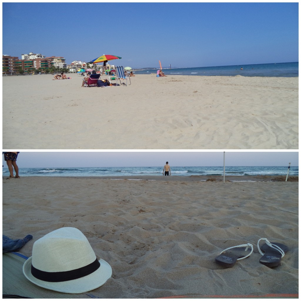 Long stretches of sandy beach in Torredembara - pure bliss for a city soul!