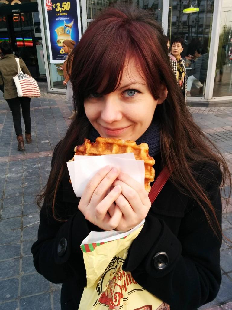My best waffle/gofri ever - Brussels