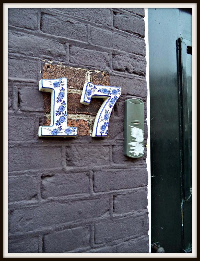 Door number 17, Amsterdam