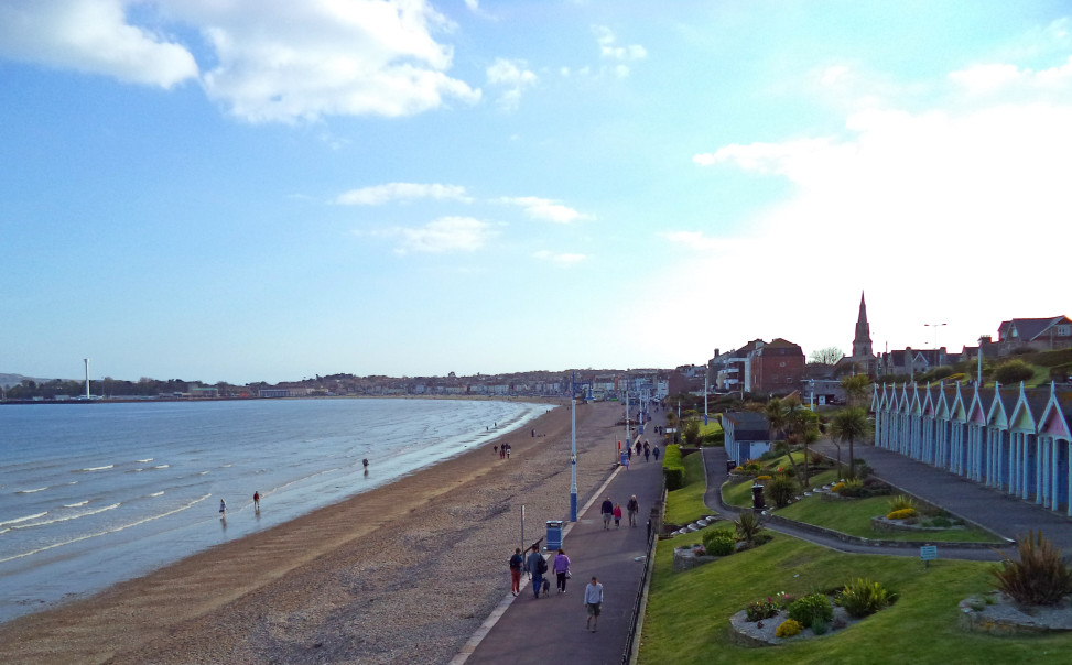 Weymouth from Greenhill Gardens