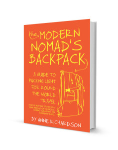 Modern Nomad's Backpack by Anne Richardson