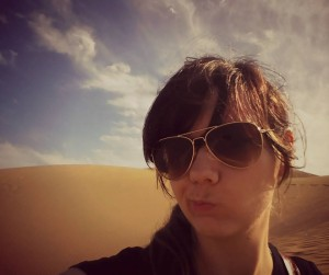 Selfie at Dunas de Maspalomas, Gran Canaria