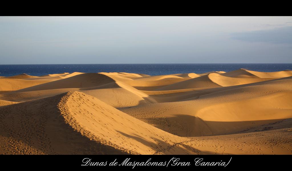 Dunas de Maspalomas, photo taken by Jimmy Comamala.
