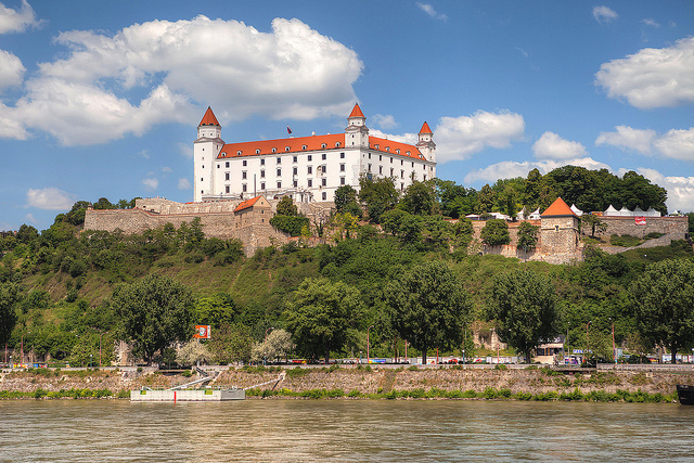 Sunny and warm days - that's how I remember September in Bratislava! (Although this picture was -reportedly- taken in May)