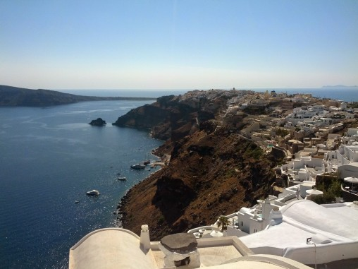 Views from Oia, Santorini