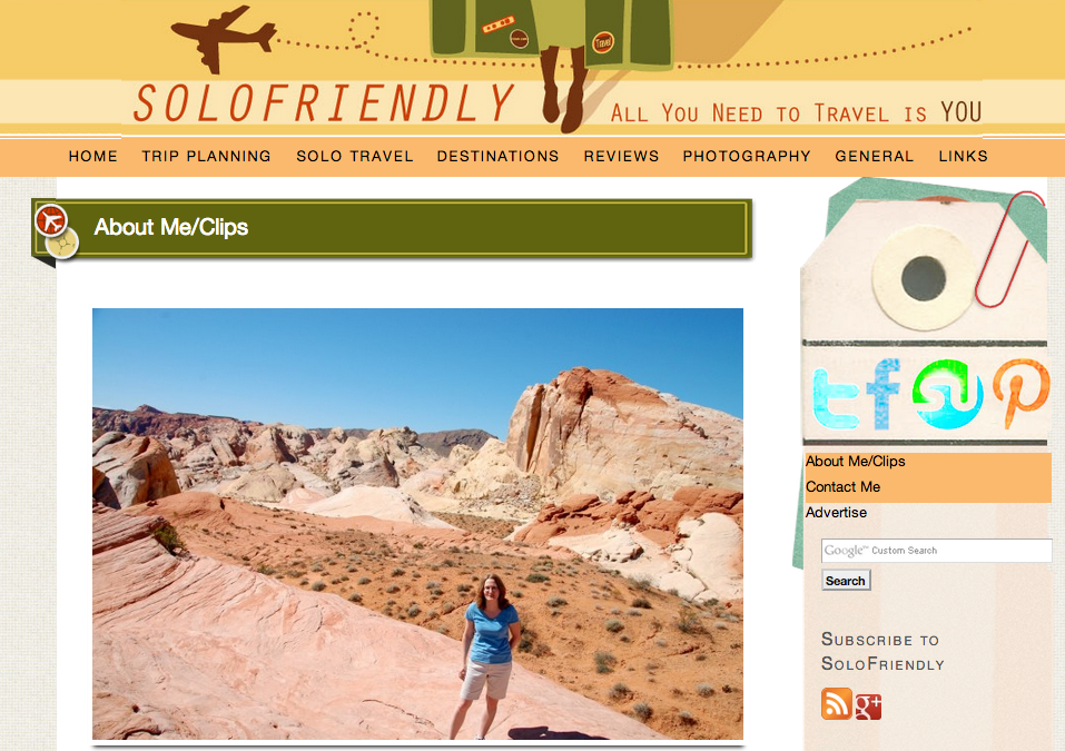 Solo Friendly Blog