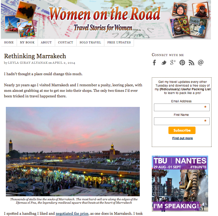 Women on the Road Blog