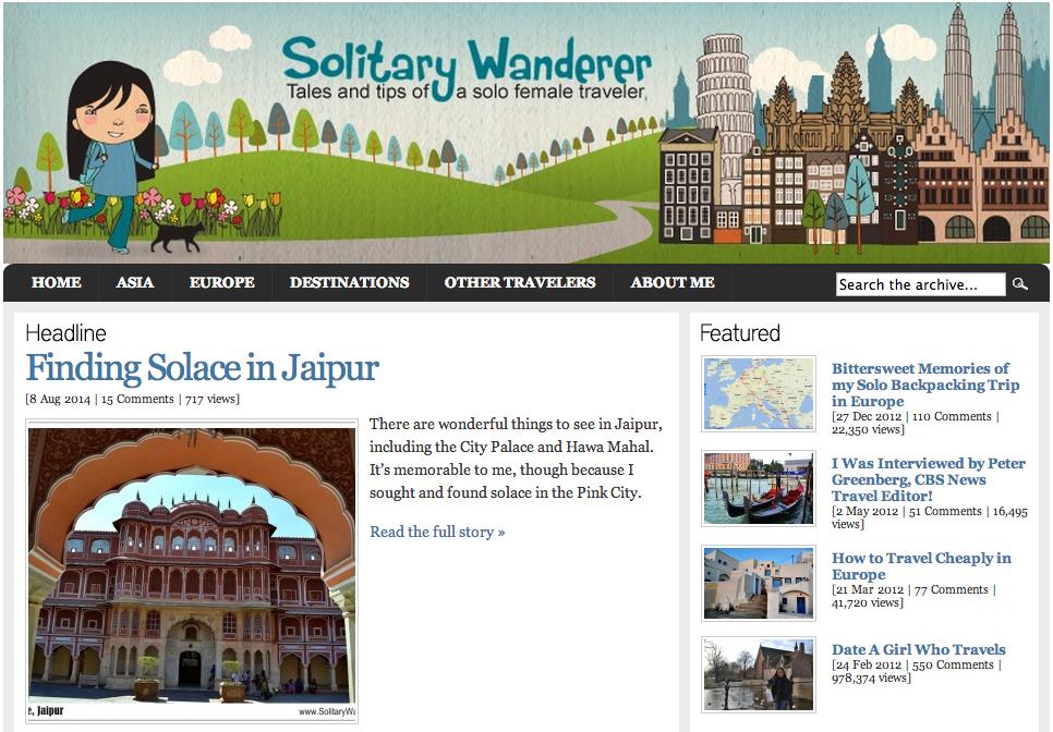 Solitary Wanderer Blog