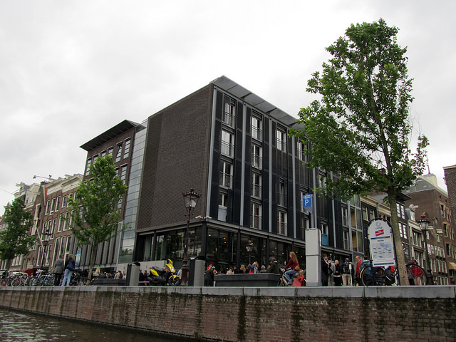 Anne Frank's house in Amsterdam