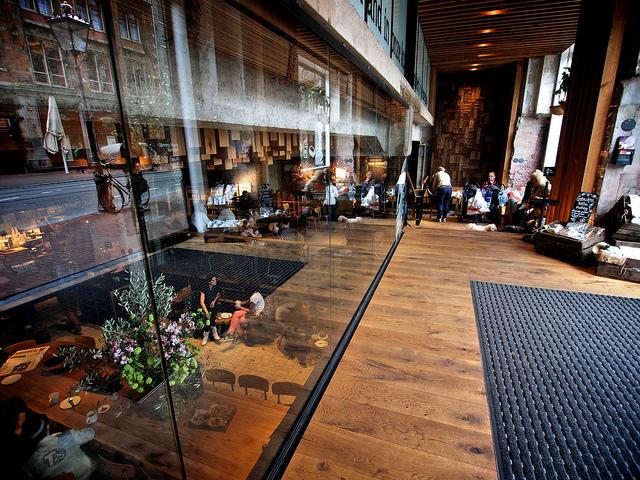 Stylish Starbucks in Amsterdam