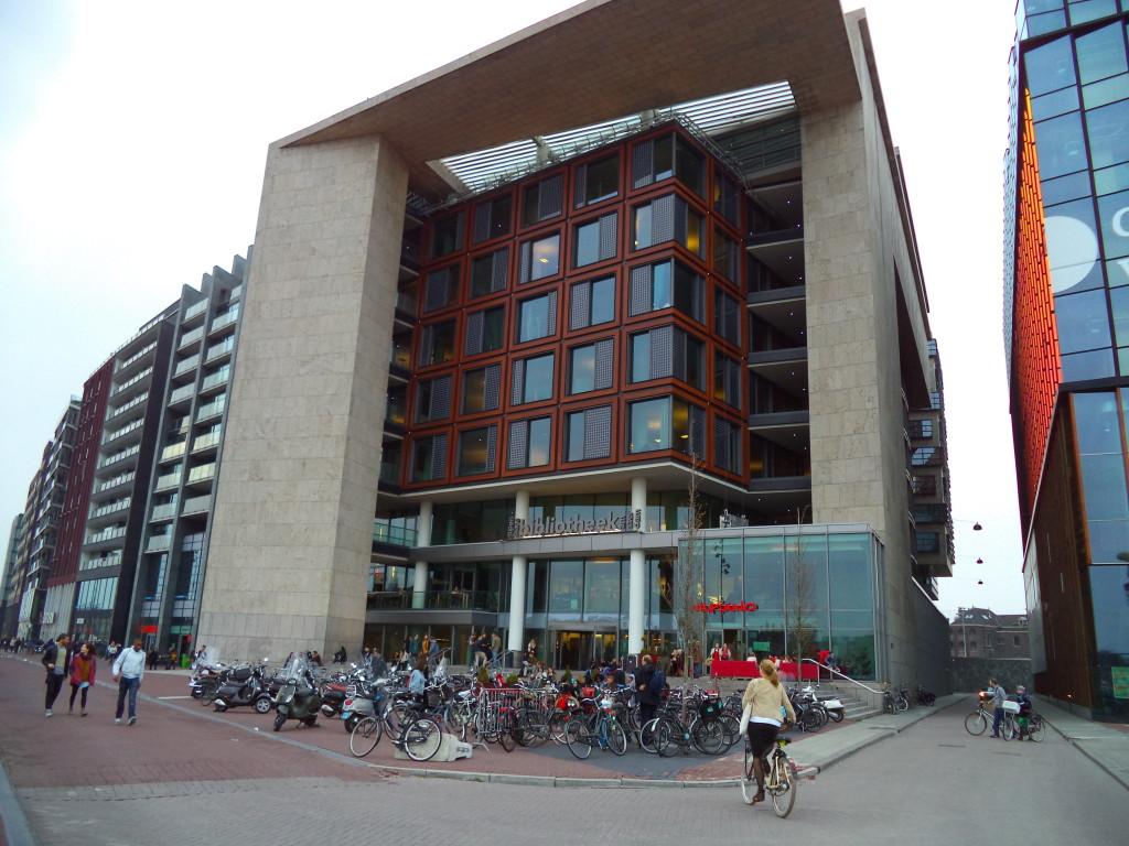Openbaare Bibliotheek - City library in Amsterdam