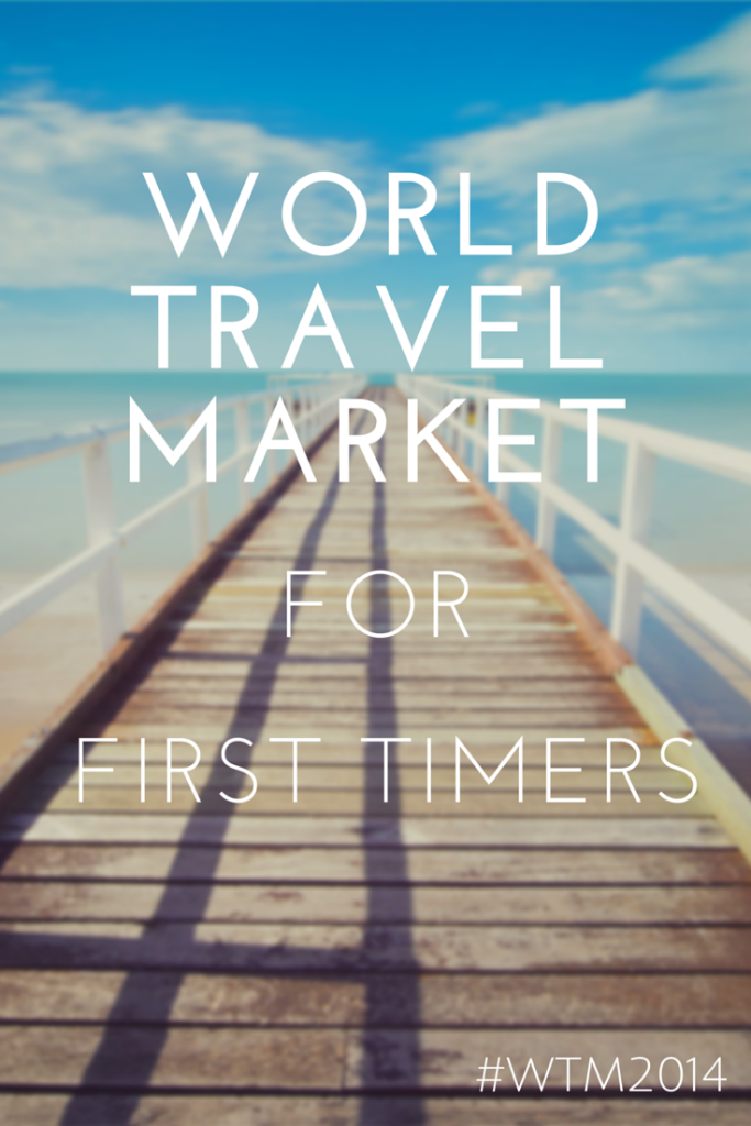 WORLD TRAVEL MARKET for first timers