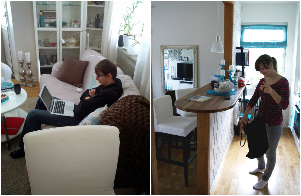 Our Stockholm flat rented through Airbnb