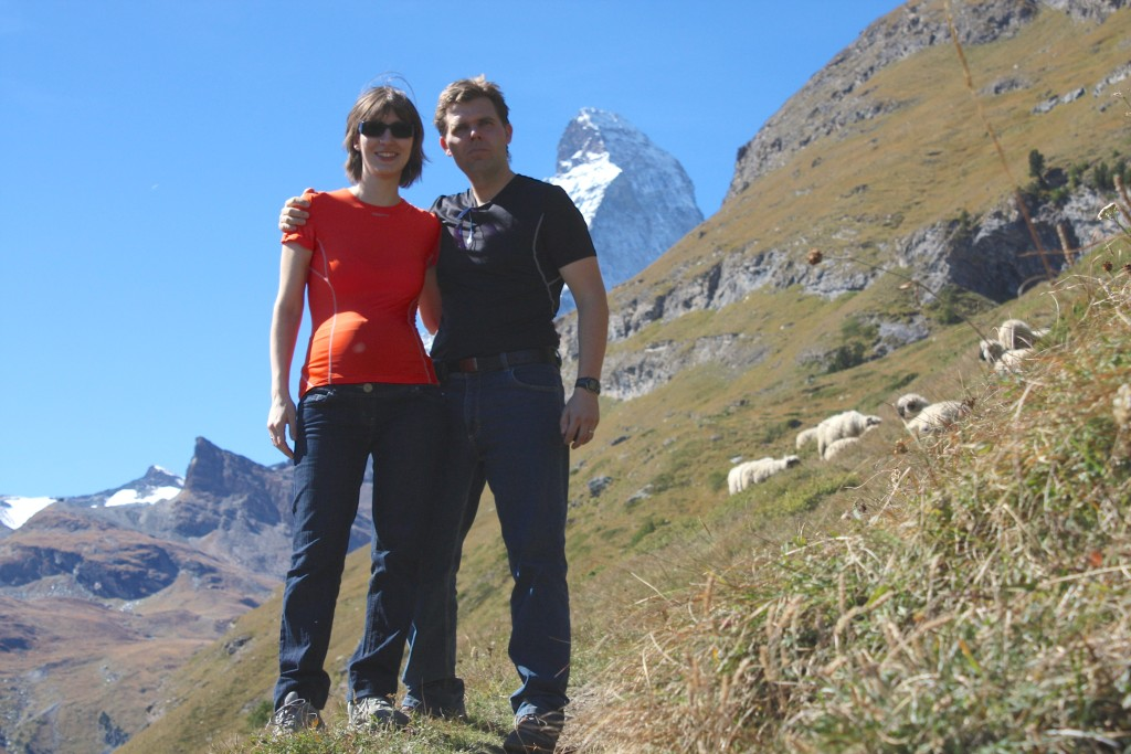 Tripomatic founders - Barbora and her husband Lukas