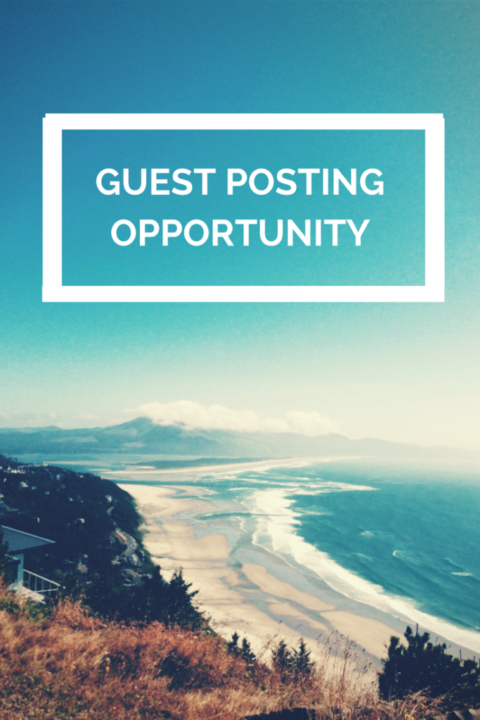 GUEST POSTING OPPORTUNITY