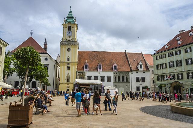 Main square, Bratislava
