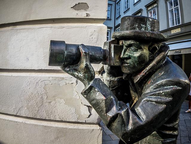 Cumil statue, Bratislava