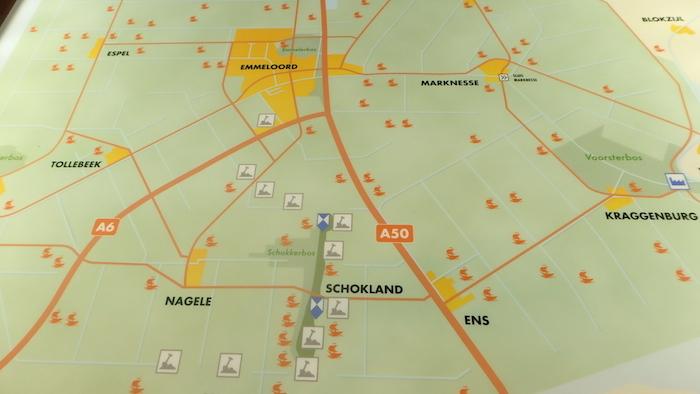 Map of Schokland area