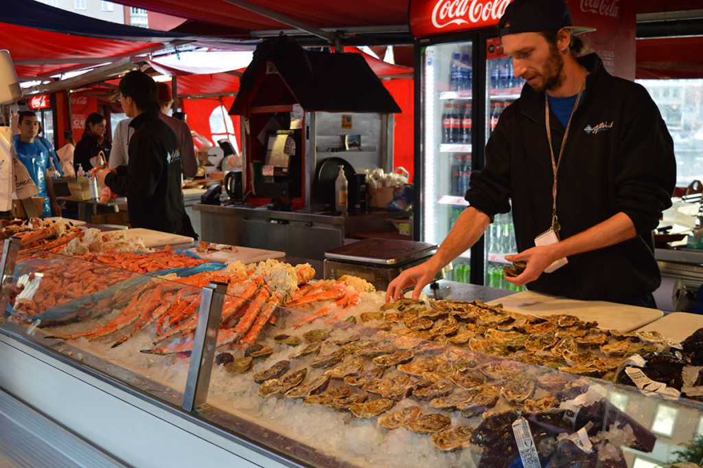 Fish market, Bergen
