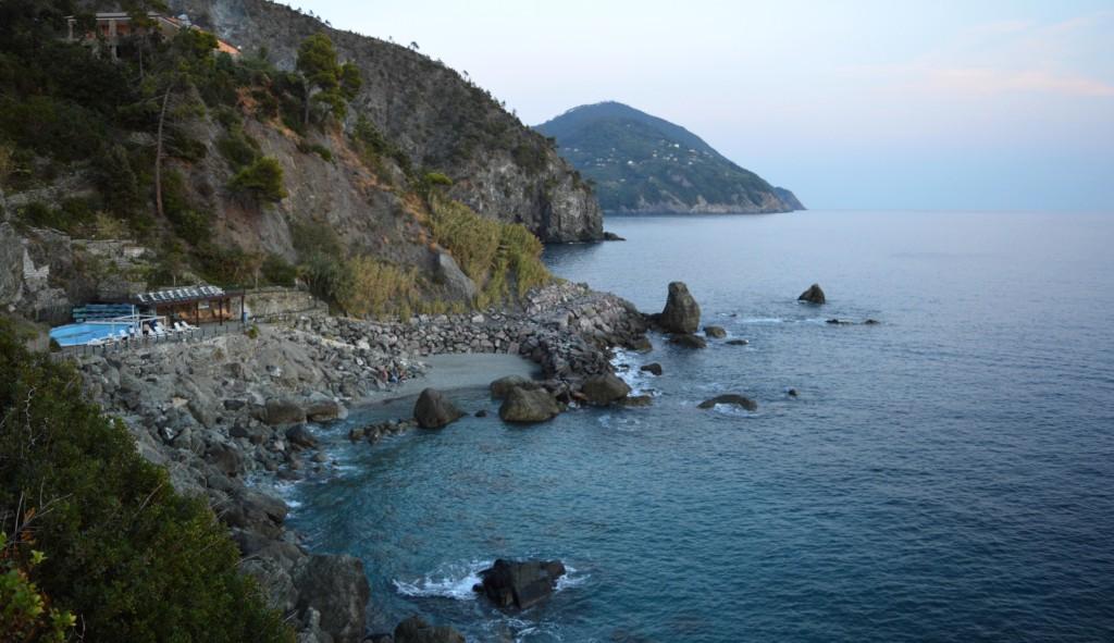 Small beach at La Francesca resort