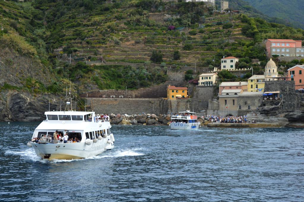 Boats at Vernazza port, Cinque Terre