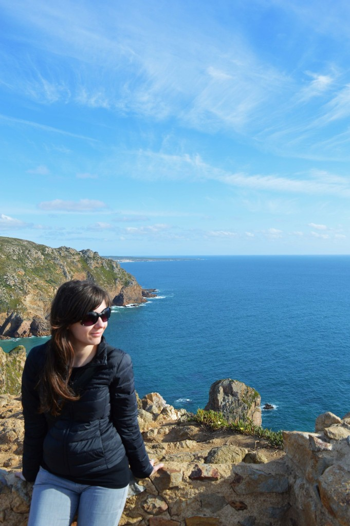 Enjoying Cabo da Roca, Portugal