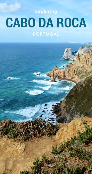 exploring cabo da roca, portugal